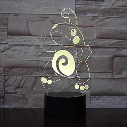 Frosch Nachtlicht Illusion Farbwechsel dekorative Lichter Kinder Kinder Mädchen Geschenke Tier Frosch Schreibtisch Nachtlicht Nachttisch