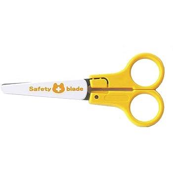 サンスター文具 安全練習はさみ 右手用 イエロー S3715620