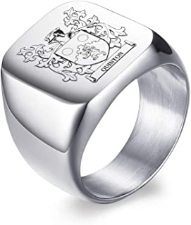 family coat of arms rings