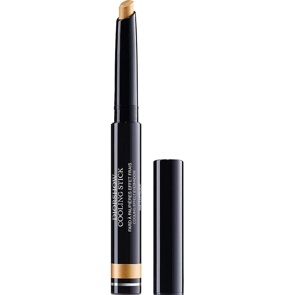 甘美な黒人ノーブル[Dior ] ディオールDiorshow冷却スティックアイシャドウ1.6グラム002 - 金スプラッシュ - DIOR Diorshow Cooling Stick Eyeshadow 1.6g 002 - Gold Splash [並行輸入品]