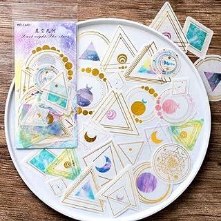 60pcs Star DIY Decoration Stickers (B-Galaxy Geometric)