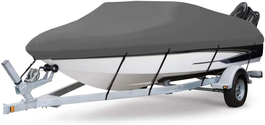 Baltimore Mall Seamander Heavy Duty Waterproof Trailerable Limited time sale Boat Cover Fit V-Hul