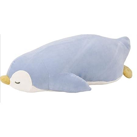 りぶはあと 抱き枕 プレミアムねむねむアニマルズ ペンギンのラブ Lサイズ(全長約60cm) ふわふわ もちもち 28977-61
