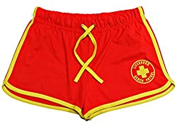 100% Interlock cotton construction Lifeguard + Beach Patrol Decal (Yellow Print) to the left leg Elastic waistband and Draw string 6 Sizes Available Fast Dispatch
