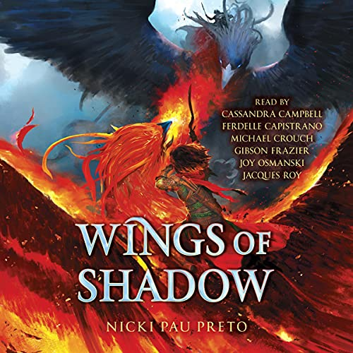 Couverture de Wings of Shadow