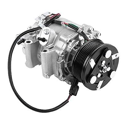 A/C Compressor, 38810-RNA-A01 Air Conditioning A/C Compressor for Honda Civic 1.8L 2006 2007 2008 2009 2010