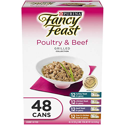 Fancy Feast Collection Variety Pack - Poultry & Beef (3 oz, 48 ct.)