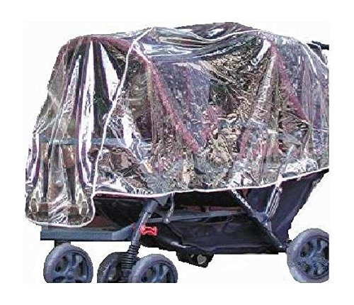 Buy Bargain Crystal Clear Tandem Stroller Rain and Wind Shield (Double Front & Back Tandem)