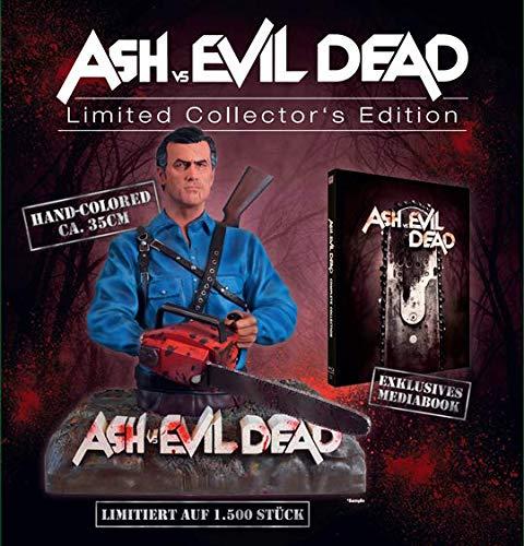 ASH VS EVIL DEAD SSN 1+2+FIGUR (4-BD) [Blu-ray]