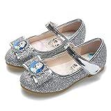 YOSICIL Zapatillas de Baile Bailarinas para Niñas Zapatos de Lentejuelas con...
