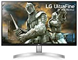 LG 27 inch 4K-UHD (3840 x 2160) HDR 10 Monitor (Gaming & Design) with IPS Panel, HDMI x 2, Display Port, AMD Freesync  - 27UL500 (Silver Stand with White Body) hdmi cable for 4 k Apr, 2021