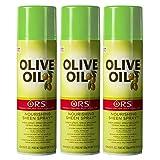 Rup Organic Root Stimulator Aceite de oliva Nutritivo brillo spray 455ml * * 3unidades * *