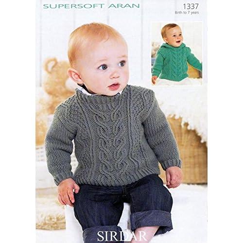 60851dfe3d05 Aran Baby Knitting Patterns  Amazon.co.uk