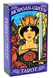 KOOLIFE Morgan Greer Tarot Illustrated by Bill Greers Popular Fortune Telling Toy for Girls Women Men Experts Tarot Cards 78 Pcs, 4x2.3 inch