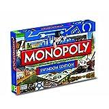 Monopoly - Juguete de modelismo ferroviario, de 2 a 6 Jugadores (Winning Moves 21197) (versión en inglés)