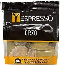 30 capsule NESPRESSO compatibili ORZO