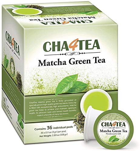 Cha4TEA 36-Count Matcha Green Tea for Keurig