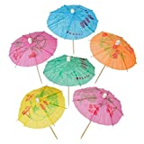 Cocktail Umbrellas Picks for Drinks, Cocktail Drink Umbrellas - Hawaiian Party and Pool Party...