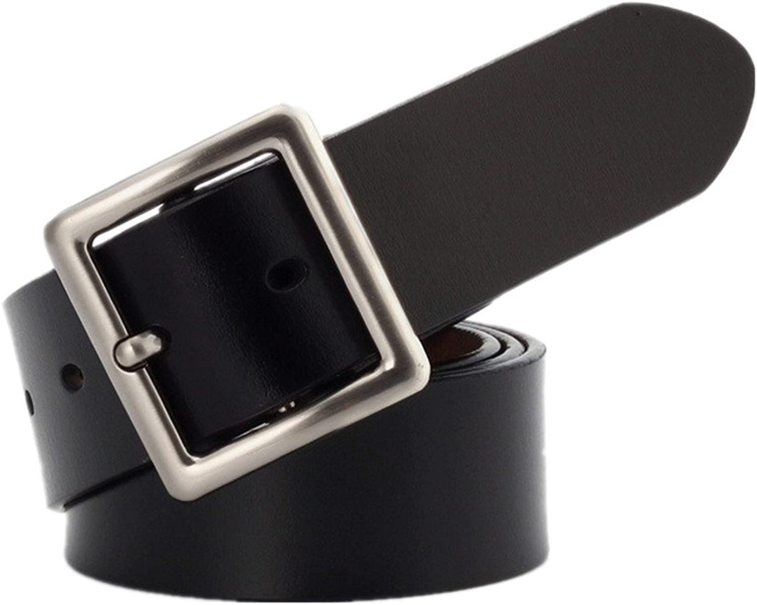 Ladies Belt Women's Leather Decorative Pin Buckle Belt Suitable for All Seasons and Places