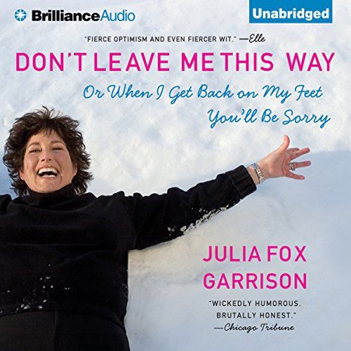 Don't Leave Me This Way audiobook cover art
