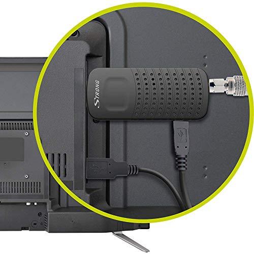 STRONG SRT 82 DVB-T2 Decoder Digitale Terrestre Piccolo HD HDMI / USB