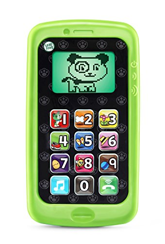 LeapFrog Chat and Count Smart Phone, Scout, Great Gift For Kids, Toddlers, Toy for Boys and Girls, Ages 2, 3