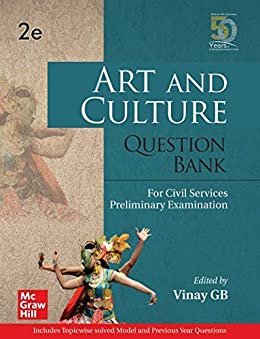 Art and Culture Question Bank For Civil Services Preliminary Examination   Second Edition by [Vinay GB]