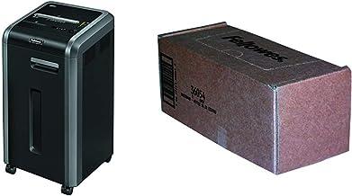 $831 » Fellowes 3825001 Powershred 225Ci 100% Jam Proof 22-Sheet Cross-Cut Commercial Grade Paper Shredder,Black & Powershred Shr...