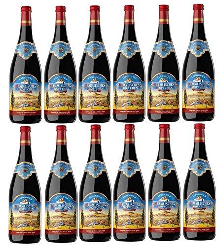 12 Flaschen Himmlisches Tröpfchen a 1 L 11% vol. Tafelwein Rotwein