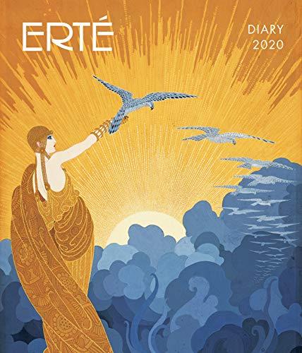 Erté 2020: Original Flame Tree Publishing-Desk Diary [Wochenkalender]