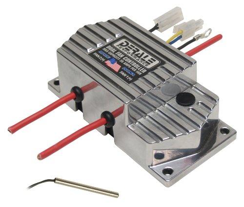 Derale 16788 High Amperage Dual Fan Controller Push In Probe , Black
