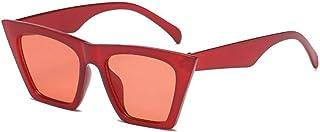 IKANOO Fashion Square Cat Eye Sunglasses Women Small Cateye Trendy Sunglasses