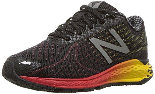 New Balance New Balance Boys' Vazee Rush Running-Shoes, Black/Red, 2.5 W US Little Kid