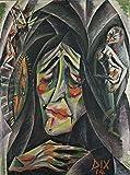 Otto Dix The Nun b1406 A3 Poster - Glänzendes dickes