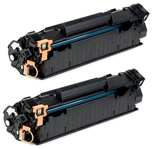 Prestige Cartridge CF283A 83A 2-er Pack Toner kompatibel für HP Laserjet Pro MFP M225dn, M225dw, M201dw, M201n, M202dw, M202n, M125a, M125nw, M126nw, M127fn, M127fp, M127fw, M128fn, M128fp, M128fw