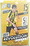 2017 PANINI REVOLUTION SOCCER 15 BASE CARD HANGER BOX LOOK TEEN SENSATION CHRISTIAN PULISIC ROOKIE CARD & FOR EXCLUSIVE INSERTS! SUPERSTARS MESSI, NEYMAR, RO... rookie card picture