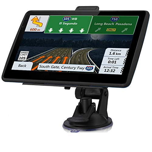Buy Cheap GPS Navigation for Car,7-inch Touch Screen Car GPS Real Voice Spoken Turn-by-Turn Direct...