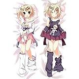 Vocaloid 2 Kagamine Rin/Len Anime Dakimakura Pillow Case Bedding Pillowcases 20'x59' #Q69