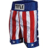 Title American Flag Boxing Trunks, Medium