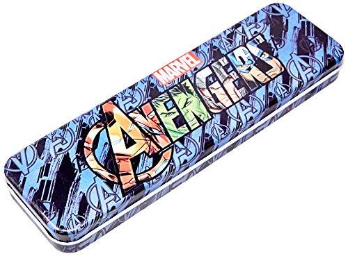 Estojo Lata Com Bandeja Avengers, Disney, Estojo Lata Com Bandeja Avengers DYP-026, Estampa Avengers
