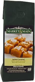 Market & Main Salted Caramel Flavored Coffee, Single Bag, 11 Ounces