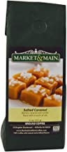 Market & Main Salted Caramel Flavored Coffee, Single Bag, 11 Ounces