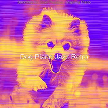 Backdrop for Quiet Puppies - Inspiring Piano