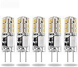 Lampadine a LED G4 da 12 V, luce bianca calda, 3000 K, AC/DC 2 W/20 W, lampadine alogene G...