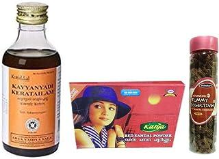 Kottakkal Arya Vaidya Sala Kayyanyadi Tailam - 200ML,With Free Dilbahars Yummy Digestives Khatta Mitha Chhuhara 90gm & Kal...