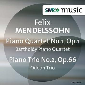 Mendelssohn: Piano Quartet No. 1 & Piano Trio No. 2