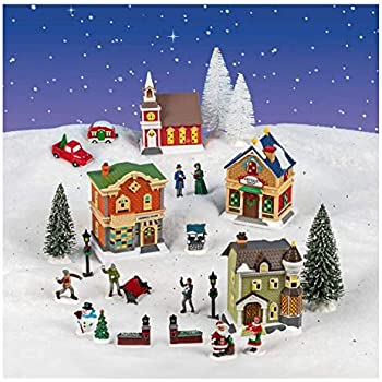 2020 Cobblestone Village Christmas Amazon.com: Cobblestone Corners 2020 Christmas Village Collection