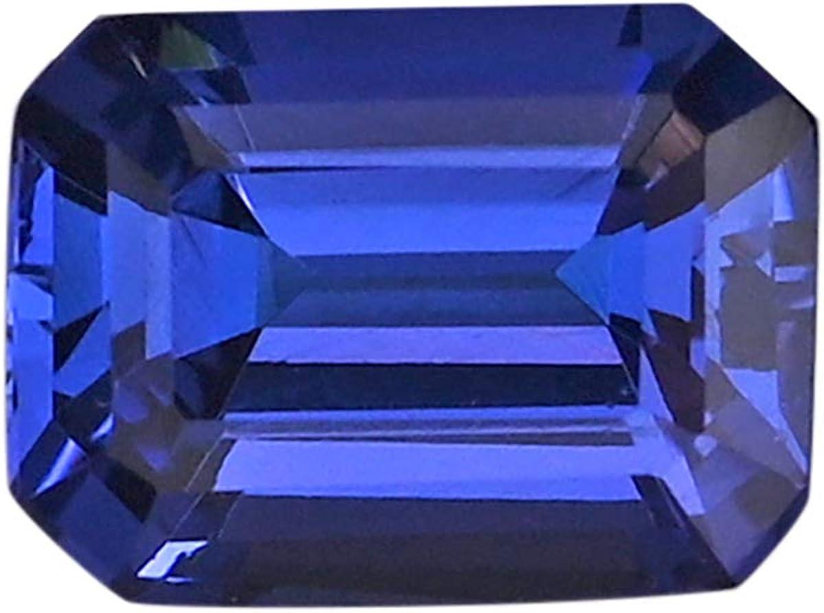 Jewelry Making Loose Sale Gemstone Popular product AAAA mm Blue Octagon Tanzanite 8x6