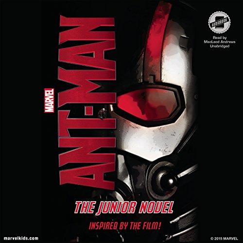 Marvel's Ant-Man audiobook cover art