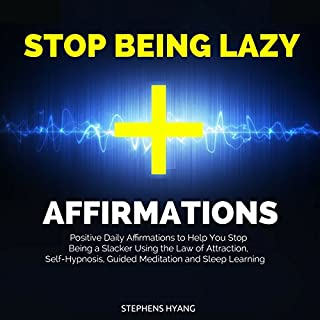 Stop Being Lazy Affirmations cover art